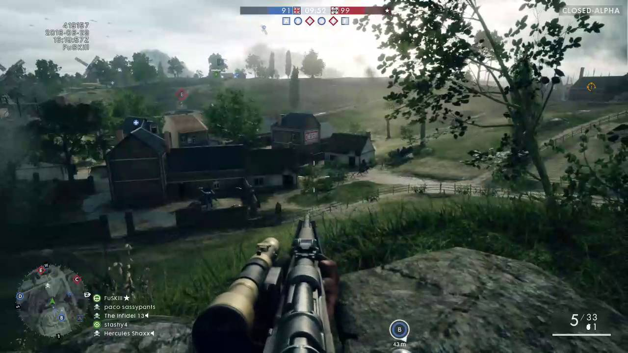 Alpha battlefield 1 gameplay xbox one youtube