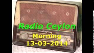 Radio Ceylon 13-03-2014~Thursday Morning~02 Ek Hi Film Se - Kaale Badal 1951
