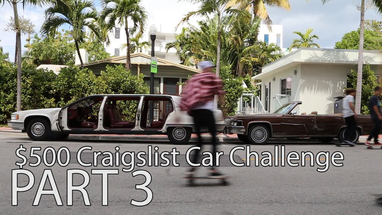 $500 Craigslist Car Challenge ep 3 Selling the cars in Miami