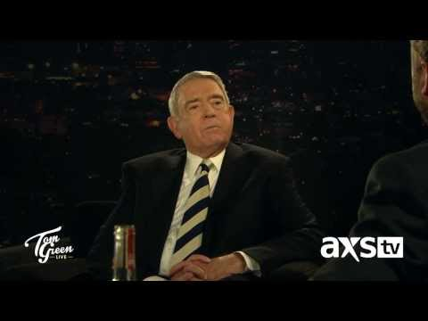 Dan Rather Teaches Tom Green the Finer Points of Chewing Tobacco