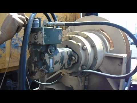 Dp WINCH first layer 55,000 lb hydraulic military winch (working) (LOOKS GOOD)