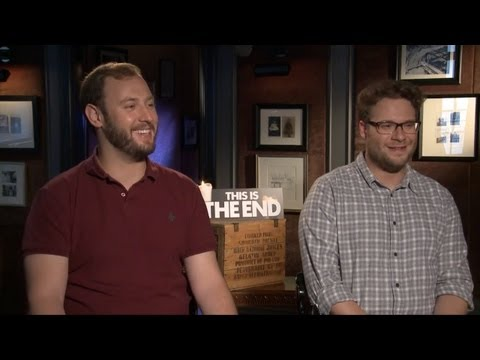 Evan Goldberg & Seth Rogen - This Is The End Interview HD