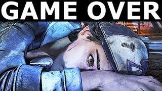 All Game Over Scenes - The Walking Dead Final Season 4 Episode 2 (Telltale Series)
