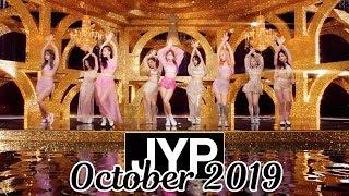 [TOP 69] Most Viewed JYP Kpop MVs [October 2019]