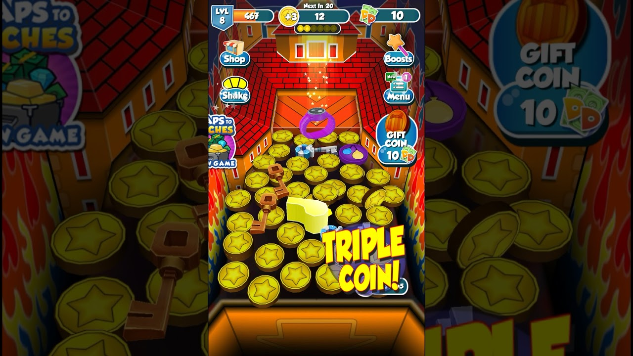 Coin Dozer Gameplay Walkthrough Level 9 HD