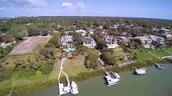 Belleair Bluffs Causeway/Harbor Bluffs Florida/Drone