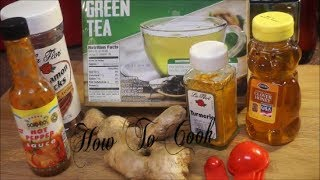 HOW TO LOOSE BELLY FAT TUMERIC GINGER TEA HEALTH BENEFITS RECIPE 2017