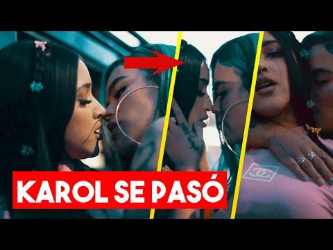 KAROL G ES ACUSADA DE LESB1ANA por su beso con MARIAH ANGELIQ 😱    EL MAKINON   Tendencias 2021