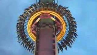 Drop Zone at Kings Island - Kings Island Drop Tower