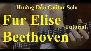 Hướng dẫn: Für Elise - Beethoven Guitar (Level 1)