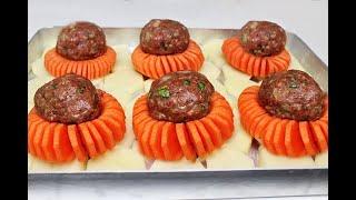 Şahane Bir Yemek Tarifi ✅ EZBER BOZAN  Kebab Tarifi. MUHTEŞEM Birinci Sırayı ALICAK ✅ EN KOLAY Tarif