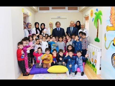 Başkan Demircan'dan Anaokulu Ziyareti