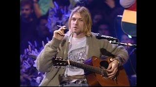 Repeat youtube video Nirvana - MTV Unplugged 1993 Interesting and Funny Moments