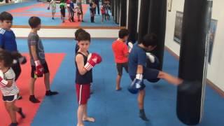 Kinder Kickboxen und Thaiboxen