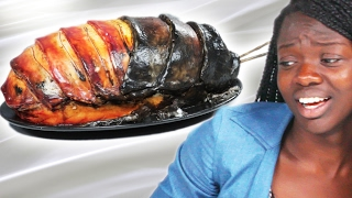 People Get Pranked With Cockroach Cake