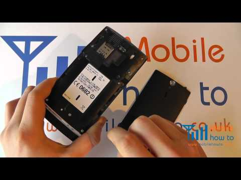 How To Remove/Replace The Battery - Sony Xperia S