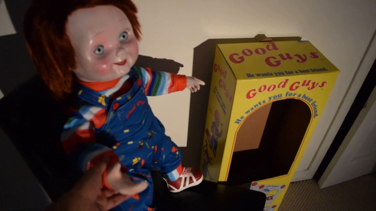 Talking Good Guy Doll Lifesize Chucky Youtube