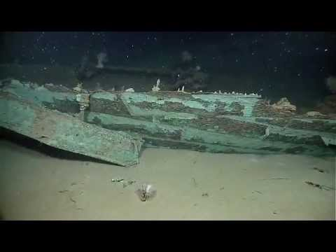 Gulf of Mexico 2012: Spectacular New Shipwreck Discovery