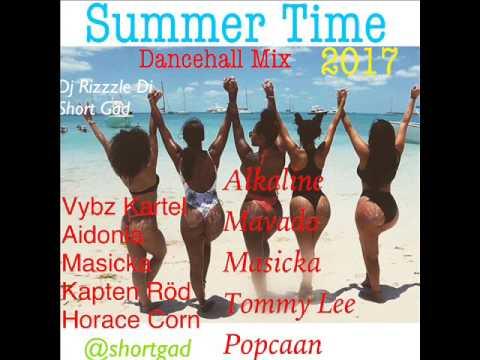 Summer Time (Dancehall Mix July 2017 ) Vybz Kartel,Aidonia,Alkaline, Mavado ( Dj Rizzzle)