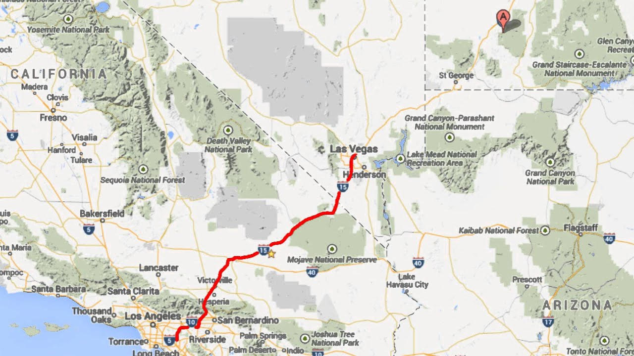 brian head  utah animated travel route map test 1920x1080