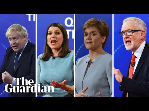 General election 2019: Question Time leaders special highlights