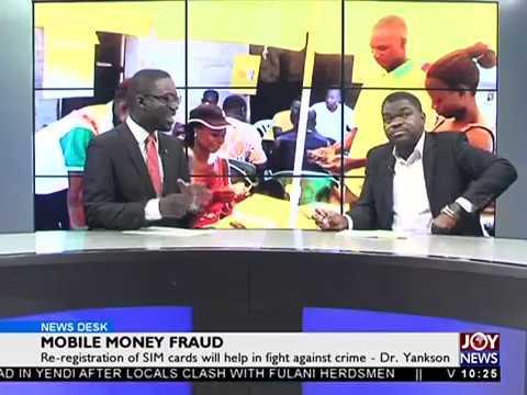 Mobile Money Fraud - News Desk on Joy News (30-10-17)