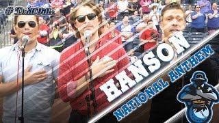 Hanson Sings the National Anthem