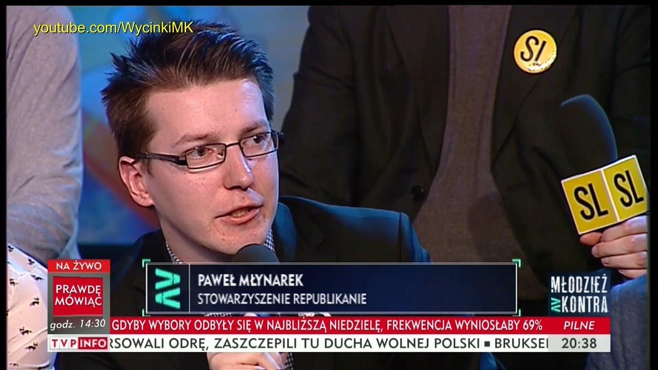 Młodzież kontra 596: Paweł Młynarek (Republikanie) vs Katarzyna Lubnauer (Nowoczesna) 29.04.2017