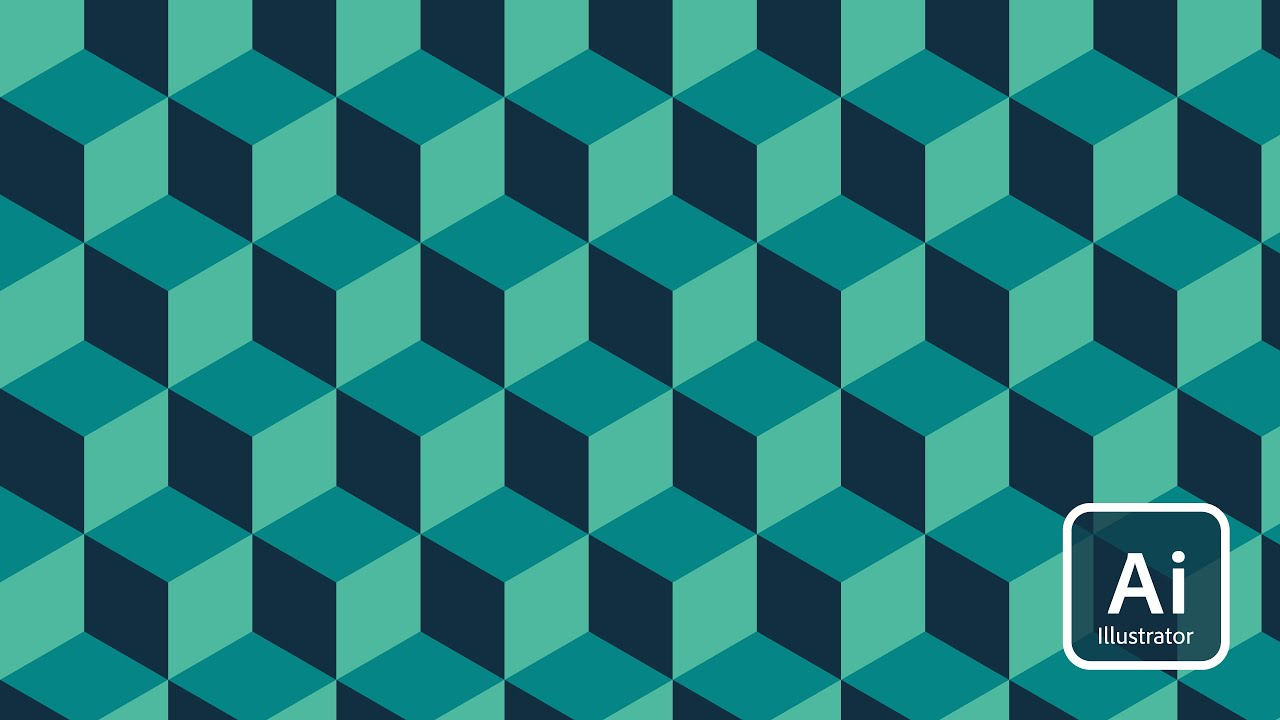 Adobe Illustrator | Geometric Patterns Tutorial - YouTube