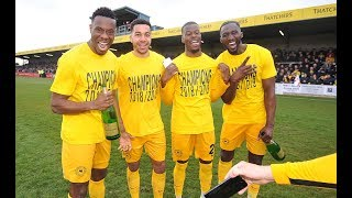 Official TUFC TV | TUFC Clinch The National League South Championship At Plainmoor 13/04/19
