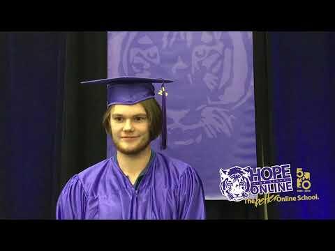 Jared's 2019 Hope High School Online Graduation Interview