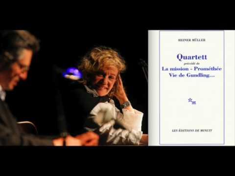 Quartett d'Heiner Müller : lu par Jeanne Moreau et Sami Frey (France Culture / Festival d'Avignon)