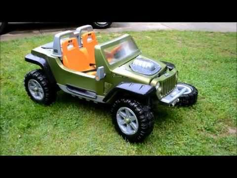 Jeep Hurricane Power Wheels Up Close
