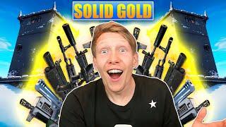 SOLID GOLD er det bedste gamemode! - [Fortnite]