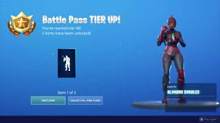 *UNLOCKING* The Blowing Bubbles Emote In Fortnite...!!!