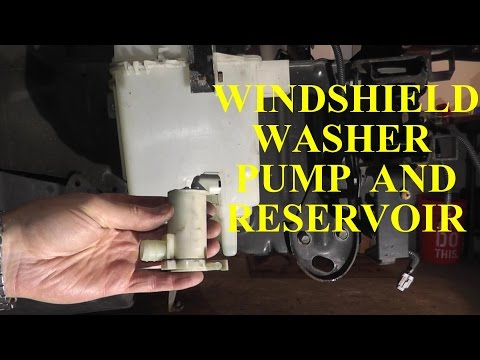 How to Replace A Windshield Washer Pump and Reservoir