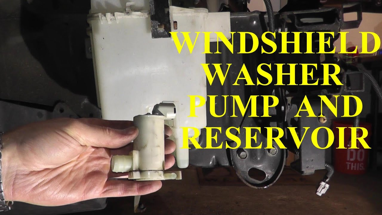 How to Replace A Windshield Washer Pump and Reservoir ...