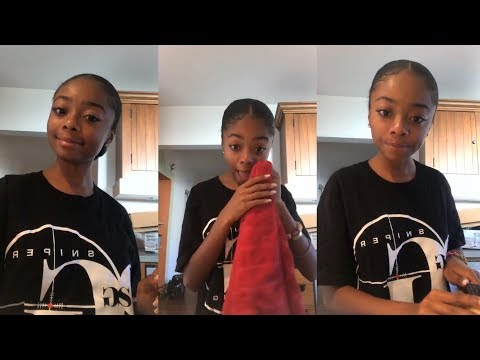 Skai Jackson  Instagram Live Stream  18 September 2018