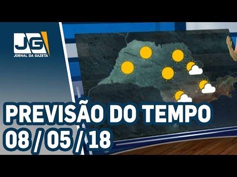 Previsão do Tempo - 08/05/2018