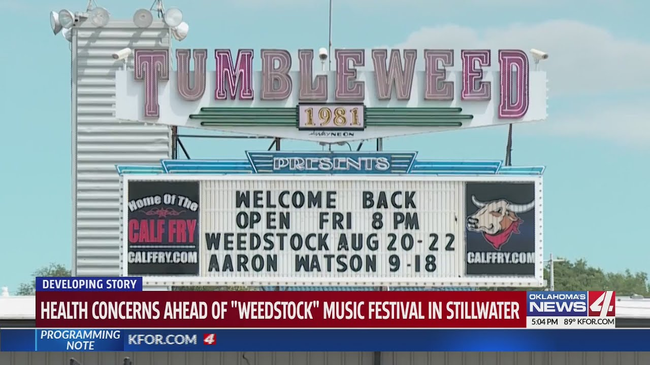 Oklahoma officials concerned about three-day music festival during pandemic