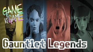Gauntlet Legends - N64 vs PS1 vs DC - Game vs Game