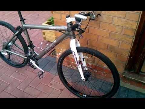 Rigid Giant Xtc Se Mosso Forks Mountain Bike Youtube