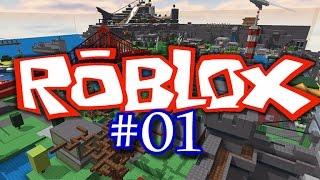 Josh Plays ROBLOX #1 - STUPID TREES
