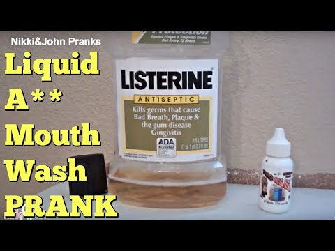 Ass to Mouth Wash Prank - YouTube