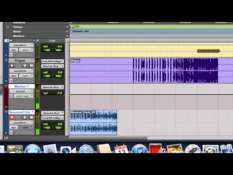 Bounce to Track in Pro Tools