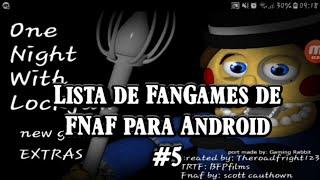Download de jogos e de Fan-mades de FNaF para Android#5 (mais 50 fan games)