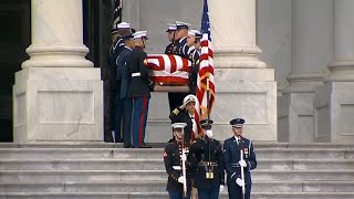 President George HW Bush full funeral & eulogies [FULL VIDEO]
