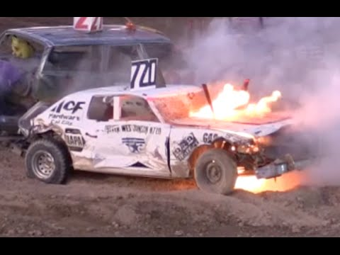 Antelope Valley Fair Demolition Derby 2015