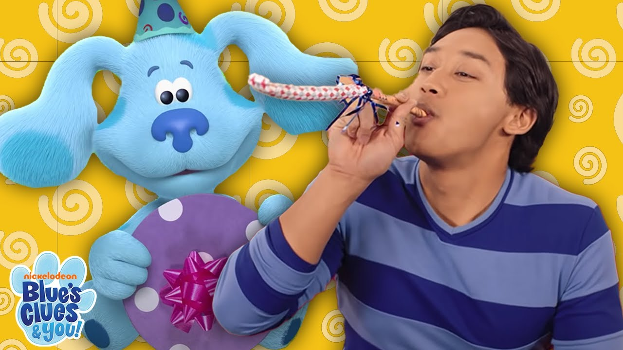 Download Blue's Clues & You! FULL EPISODE! | Happy Birthday Blue!