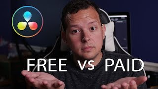 Resolve FREE vs STUDIO...Which One Do You Need?